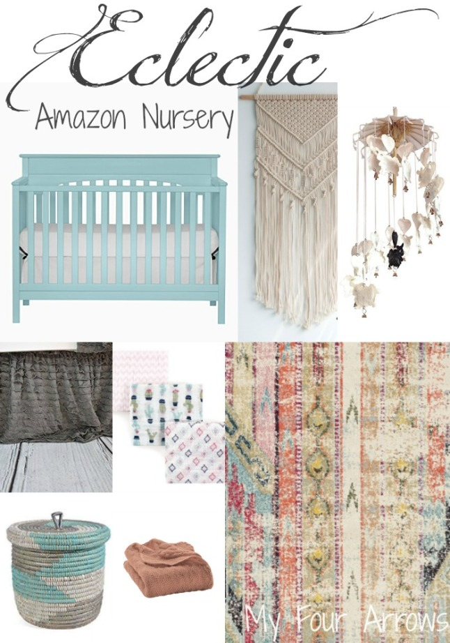 Eclectic Amazon Nursery